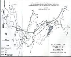 Riverside State Park Trail Map by Trail Tramps Autumn Leaves Walk Hike In Rockefeller Preserve