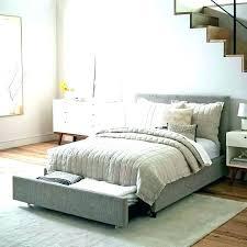 light grey upholstered bed grey upholstered bed frame curlyrocket com
