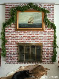 studio yuko jones brick fireplace makeover