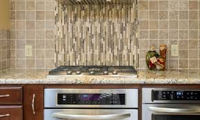 kitchen tiles colour round pendant lights brown contemporary gloss