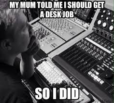 Sound Engineer Meme - music meme s audio animals