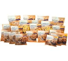 nutrisystem eating out guide nutrisystem 21 piece salty snack attack pack page 1 u2014 qvc com