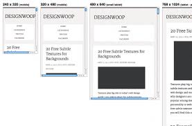 responsive design tutorial responsive web design testing tools