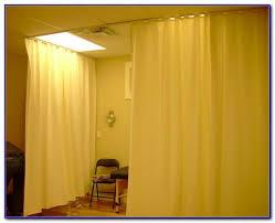 Room Divider Curtain Ideas - ceiling curtain rod room divider curtain home design ideas