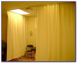 ceiling curtain rod room divider curtain home design ideas