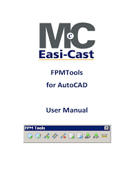 fpm tools for autocad user guide installation computer programs