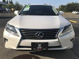 lexus suvs 2013 2013 lexus rx 350 suv for sale in ferndale wa 26 500