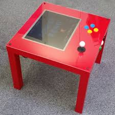 Game Tables Furniture A Raspberry Pi Ikea Arcade Table To Make Yourself Raspberry Pi