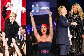 did celebrity endorsements contribute to hillary clinton u0027s