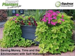 Self Watering Planters Self Watering Planters Saving Time And Money And The Environment