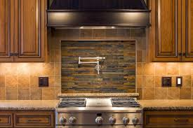 Stone Backsplash In Kitchen Awesome Kitchen Cabinets With Natural - Layered stone backsplash