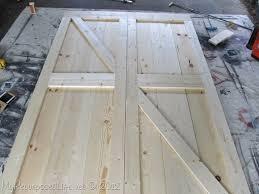 How To Build Barn Doors Sliding My Repurposed Life How To Diy Faux Barn Doors Hoh103 Hookin