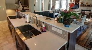 kitchen breakfast island kitchen breakfast bar an island with everything a raised top