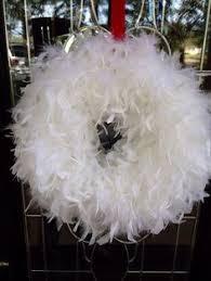 white feather christmas wreath liberty london christmas