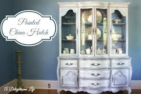 dining room hutch ideas painted dining room hutch a painted china hutch the dining