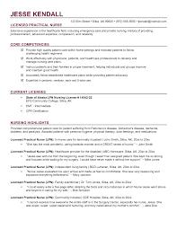 Nursing Template Resume Sample Lpn Resume Objective Best Lpn Resume Important I