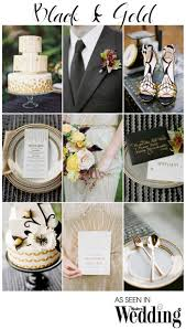 gold wedding theme black gold wedding theme