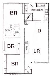 3 Bed 2 Bath Floor Plans by Floor Plans