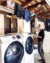 simply done a beautiful diy garage laundry space simply organized a simply beautiful diy garage laundry space by simply organized