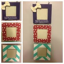 Cute Homemade Gifts by Diy Picture Frame Cute Diy Crafts Pinterest Craft Gift