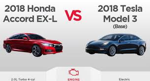 would you ever cross shop a tesla model 3 with a 2018 honda accord
