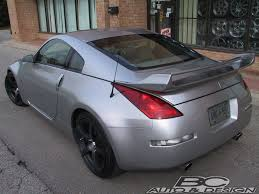 nissan 350z rear spoiler nissan 350z inventory update bc auto u0026 design