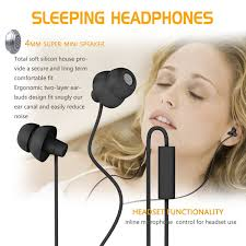 Comfortable Noise Cancelling Headphones For Sleeping Amazon Com Maxrock Tm Unique Total Soft Silicon Super