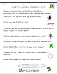 math worksheets for grade 2 word problems free worksheets library