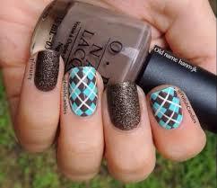 best 25 argyle nails ideas only on pinterest plaid nail art