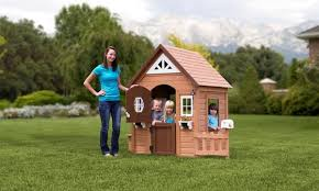 Playhouses For Backyard backyard discovery wooden playhouses u0026 furniture