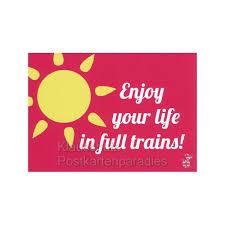 lustige postkarten spr che denglish sprüche postkarten trains