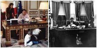 bureau president americain et depuis quand le président est il une
