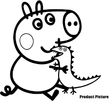 peppa pig 108 cartoons u2013 printable coloring pages