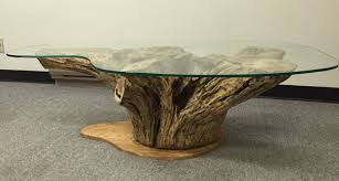 coffee table magnificent unique coffee tables tree trunk table
