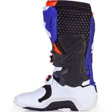 orange motocross boots new alpinestars mx 2017 le tech 10 indianapolis blue orange
