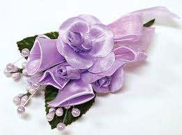 silk corsages pkg of 12 lavender silk corsages or boutonnieres