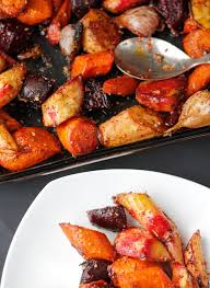 Root Vegetables Roasted - secrets for making the best roasted root vegetables aip vegan