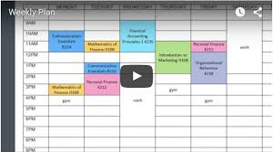 planning templates study skills library and academic success