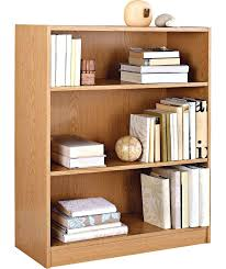 Bookshelf Speaker Shelves Bookcase Buy Maine Small Extra Deep Bookcase Oak Effect At