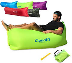 cloud 9 air products deluxe inflatable lounger premium air
