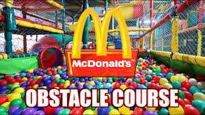 epic obstacle course in world s largest mcdonalds play place 24