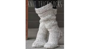knitting pattern for socks using circular needles knitting tutorial fast easy thick socks youtube