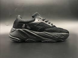 adidas yeezy black adidas yeezy boost wave runner 700 triple black for sale new