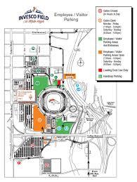 Map Denver Colorado by Denver Colorado Invesco Field Parking Map Invesco Field Denver