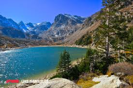 Colorado Lakes Map by Lake Isabelle Outthere Colorado