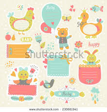 romantic love cards notes stickers labels stock vector 261498617