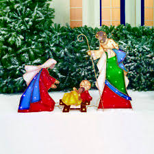 Nativity Outdoor Decorations Outdoor Nativity Set Ebay