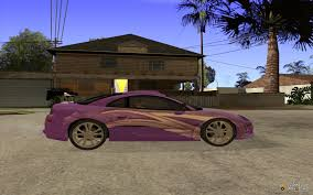 spyder mitsubishi 2fast2furious mitsubishi eclipse spyder for gta san andreas
