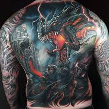 fire breathing dragon tattoo collection 80
