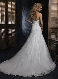 sweetheart a line tulle and lace wedding dress david u0027s bridal